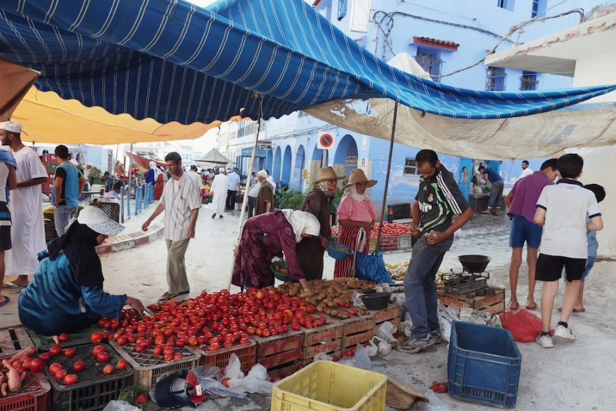 marche-Chefchaouen-Maroc